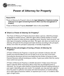 power of authority template free illinois durable power of attorney form pdf