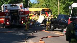 bus crash in durham nh leaves woman injured cbs boston
