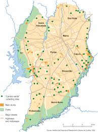 city map of brazil curitiba city map curitiba brazil mappery