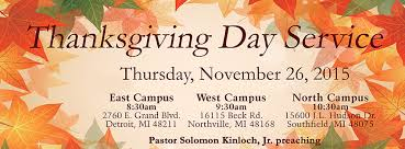 Thanksgiving November 26 Triumph Church Thanksgiving Services Nov 26