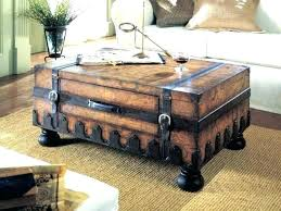 steamer trunk side table leather trunk coffee table leather trunk coffee table leather trunk