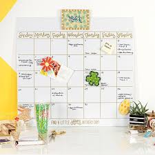 happy everything attachments happy everything magnetic erase wall calendar with gold frame