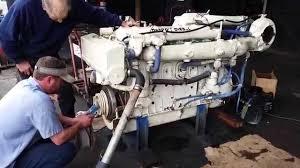 detroit diesel 6 71 tib 485hp marine engine youtube