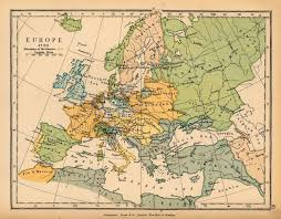 Map Of Renaissance Europe by