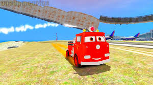 monster trucks lightning mcqueen spiderman disney cars pixar spiderman nursery rhymes u0026 lightning mcqueen