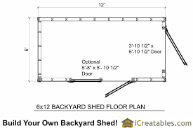 shed floor plan 6x10 shed plans 6x10 storage shed icreatables