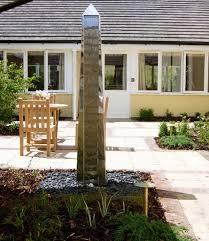 water obelisk garden ornaments water features