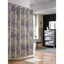 Paisley Shower Curtain Blue by Brilliant Black And White Paisley Shower Curtain For Mainstays