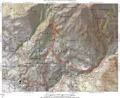 Topographical Map Of Utah by Bst Betty 51 Dry Canyon Mountain Bike Loop