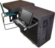 Smallest Computer Desk Modern Orange Computer Desk Design With Black Keyboard And White