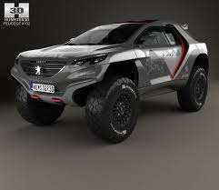 peugeot interior peugeot 2008 dkr with hq interior 2014 3d model hum3d