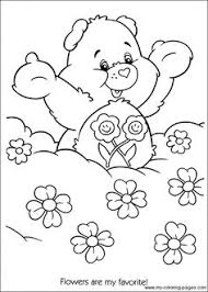 care bears coloring pages care bears coloring page 6 colouring