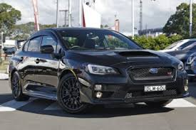 sti subaru 2016 black 2016 subaru wrx v1 my16 sti awd black 6 speed manual sedan cars