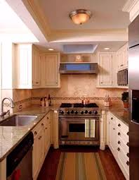 kitchen finish cabinets corian countertops images houzz galley