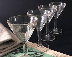classic barware bistro glasses etsy