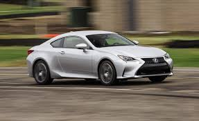 lexus models two door 2018 lexus rc in depth model review car and driver