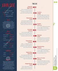 timeline infographic vector cv resume business presentation