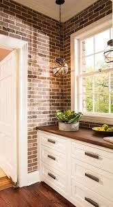 brick backsplash kitchen best 25 faux brick backsplash ideas on white brick