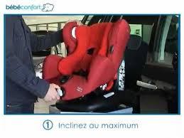 comment attacher siège auto bébé installation dos à la route du siège auto groupe 1 neo de bebe