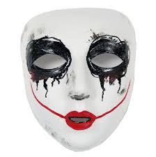 scary mask smiley scary purge similar masquerade mask