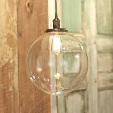 Replacement Globes For Pendant Lights Pendant Light Glass Shade Replacement Vintage Amber Glass Shade