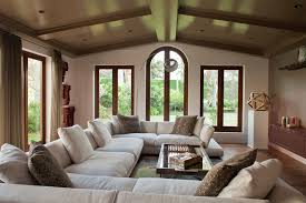 Windows Family Room Ideas Big Comfy Sectionals Family Room Farmhouse With Black Windows