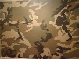 how to paint a camo room 1 used a woodland camo picture and