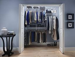 Closetmaid Ideas For Small Closets Amazon Com Closetmaid 22873 Shelftrack 4ft To 6ft Adjustable