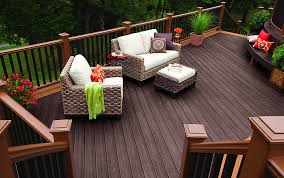 Affordable Chic Outdoor Decor Ideas by Decorating Expensive Trex Decking Cost For Wonderful Decking