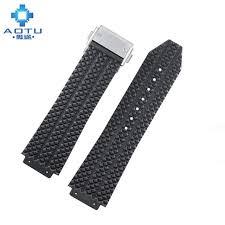 bracelet montre silicone images Silicone bracelets montres pour hublot big bang hommes bracelets jpg