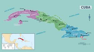 Guantanamo Bay Map Map Of Cuba Green Map Of Equatorial Guinea Map Of World Map Of