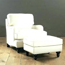 cheap chair with ottoman white chair with ottoman dinogames co