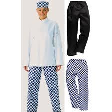pantalon cuisine pantalon de cuisine noir ceinture élastiquée et cordon de serrage