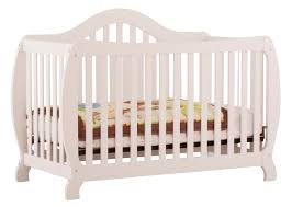 Fixed Side Convertible Crib Storkcraft Monza Fixed Side Convertible Crib
