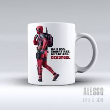 deadpool inspired mug personalised marvel deadpool coffee tea