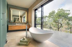 hot bathroom trends freestanding bathtubs bring home the spa retreat with  modern freestanding tubs are both ergonomic and aesthetic from decoistcom