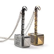 wholesale thor hammer necklace avengers dark world necklace