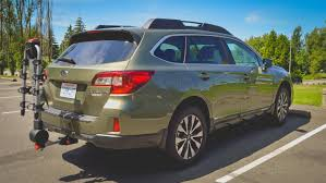 subaru camping trailer 2015 2017 subaru outback hidden ecohitch trailer hitch