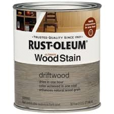 rust oleum 1 quart driftwood oil wood stain i love this color