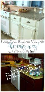 How To Seal Painted Kitchen Cabinets Kitchen Cabinet Makeover Sloan Chalk Paint Chalk Paint