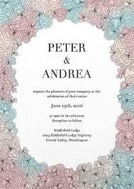digital wedding invitations doodle letterpress digital wedding invitations