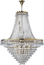 versailles chandelier versailles extra large gold finish 19 light crystal chandelier