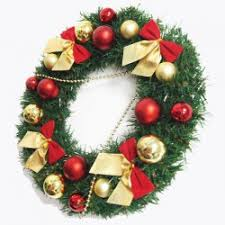 Christmas Wreath Decorations Wholesale by Wholesale Home Decorations Bowknot Balls Christmas Wreath Colormix