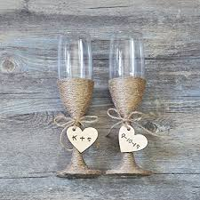 wedding glasses custom wedding glasses toasting flutes glasses