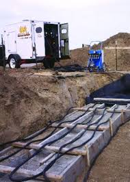 ground heaters cure cold weather concrete pouring blues 120300675062410303132