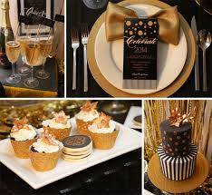black and gold party decorations black white and gold birthday party decorations image