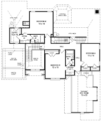 country house plan 46666 houses and exceptional two master suites