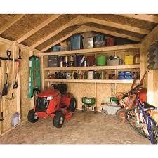 shop heartland statesman gable engineered wood storage shed