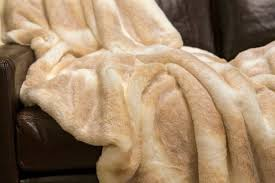 Faux Fur Throw Iced Mink Couture Faux Fur Throw Fabulous Furs Luxe Home