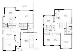 home floor planner two storey house design with floor plan elevation story balcony